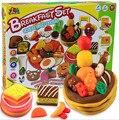 New Arrival Handgum Play Doh 3d Breakfast Play Dough Modeling Clay Creativity Kits Children Educational Toys