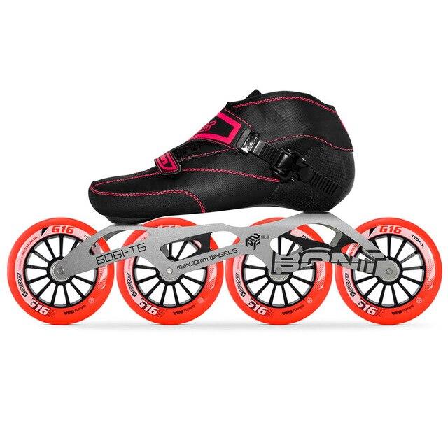 100% Original Bont Enduro 2PT patines en línea de velocidad Heatmoldable  cargador de la fibra e7ee5ab5746