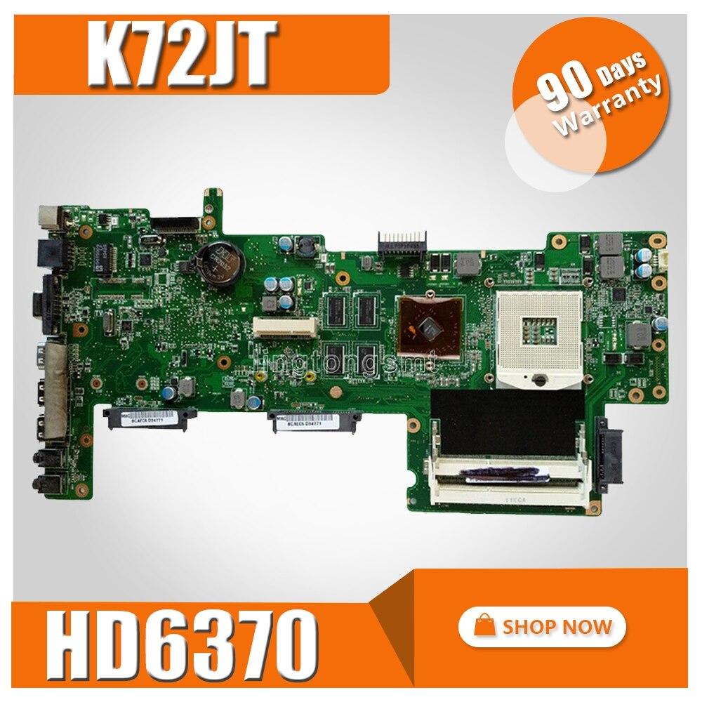 K72JT Scheda Madre con HD6370 per K72J X72J A72J K72JT K72JU K72JR Mainboard del computer portatile HM55 prova di 100% OkK72JT Scheda Madre con HD6370 per K72J X72J A72J K72JT K72JU K72JR Mainboard del computer portatile HM55 prova di 100% Ok