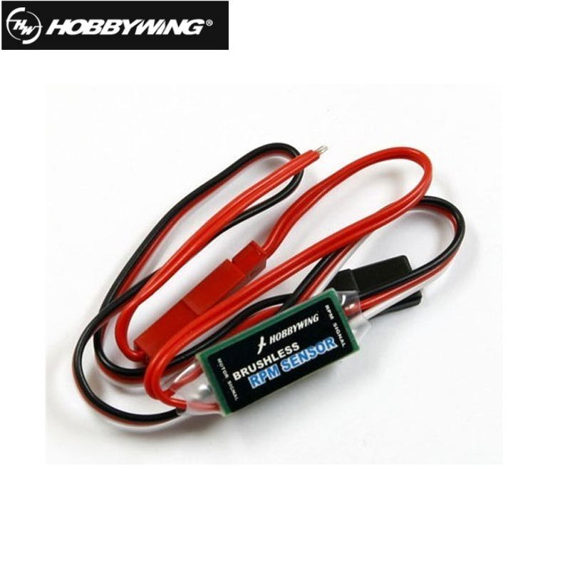 1Pcs Hobbywing Brushless RPM Sensor For High-Voltage ESC Speed Controller