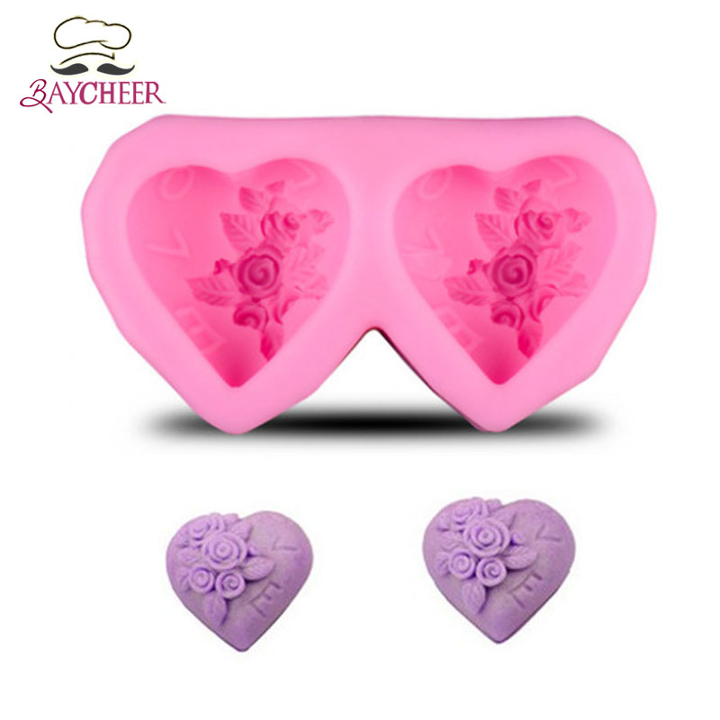 Baoblaze Flower Silicone Mold Mold Resin Mold Jewelry Gift for Kids Adult