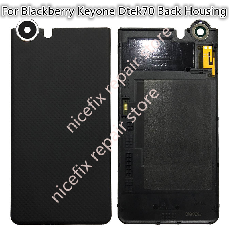 newest 8862a c6ebe US $15.19 5% OFF|For Blackberry keyone Dtek70 Battery Back Cover for  Blackberry Dtek70 dtek 70 Rear Door Housing Replacement Repair Parts-in  Mobile ...