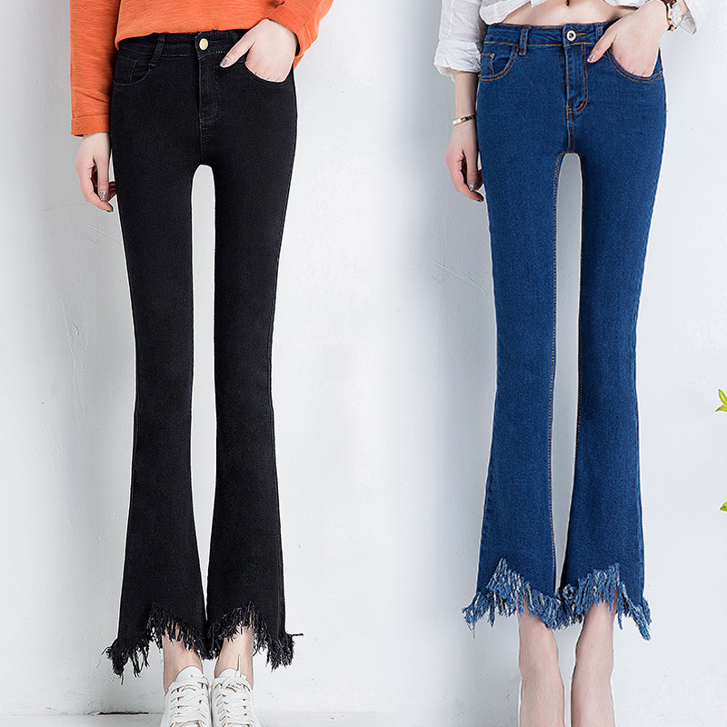 Denim Stretch Capris Promotion-Shop for Promotional Denim Stretch ...