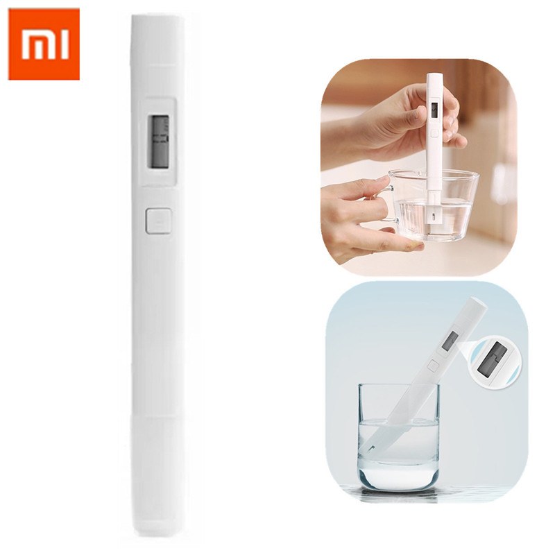 Original Xiaomi TDS Meter Tester Portable Detection Pen Water Quality Test Quality Test Temperature TDS-3 Tester Meter Digital цена 2017