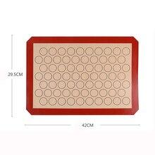 Силиконовый коврик для выпечки Макарон с антипригарным покрытием 28 LG круг Макарон кухонный коврик для теста лайнер инструмент для выпечки торта аксессуары для выпечки
