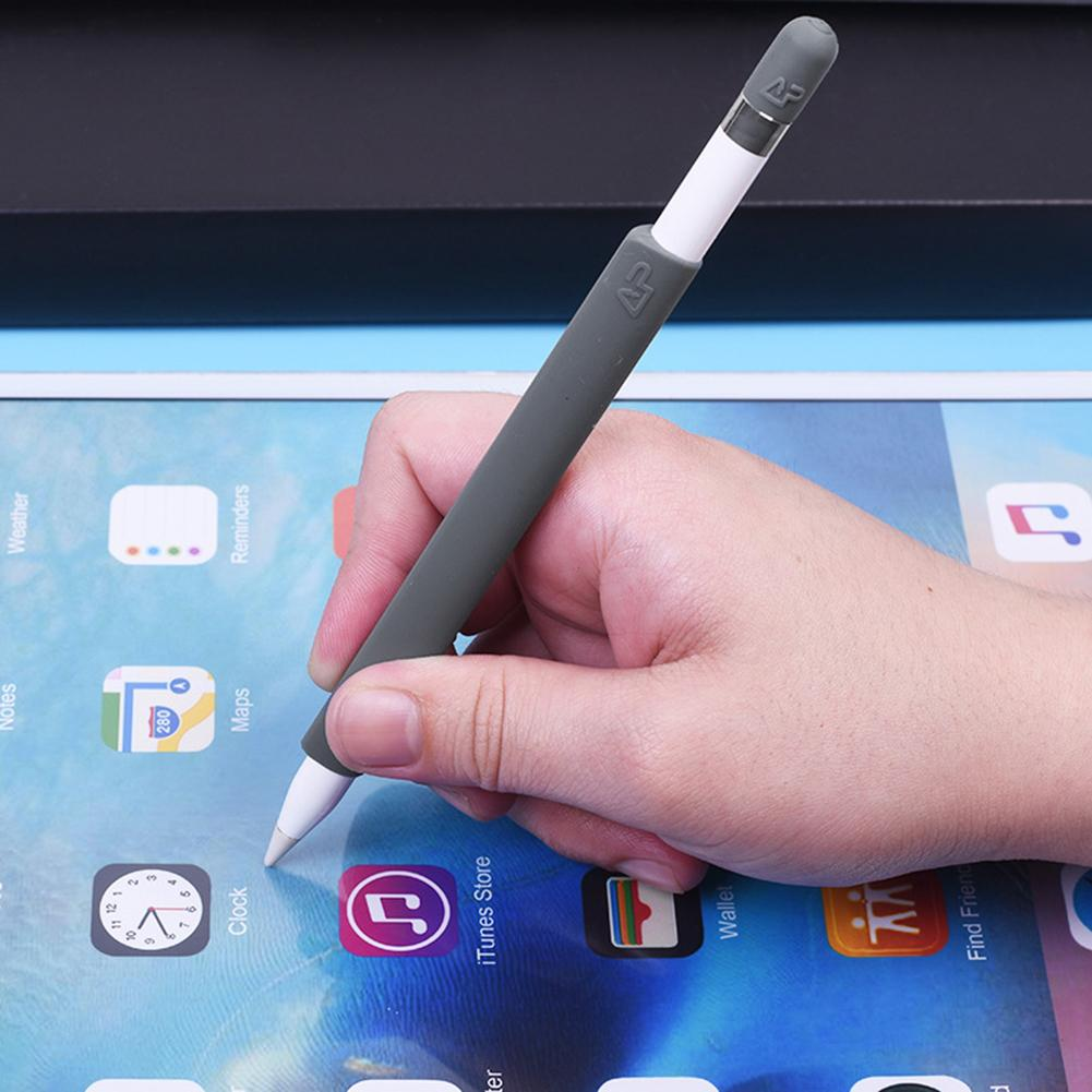 New Arrival Pen Sleeve Anti-lost Non-Slip покровитель Silicone Wrapped Kit For IPad Apple Pencil