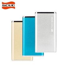 SCUD Универсальный 6200 мАч Запасные Аккумуляторы для телефонов внешний Батарея Зарядное устройство резервного копирования Dual USB полимера Мощность банк M60