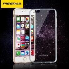 PISEN Для iphone 6 6 s Силиконовый Чехол Крышка Для iphone 6 Plus Прозрачный Цвет Тонкий Телефон P