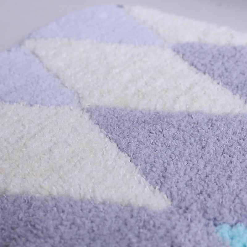Утолщение ванная комната коврики под дверь постельные коврики в коврики для гостиной De Bain для дома Нескользящие Баньо Paspas коврик для декора туалета