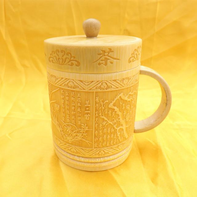 Vintage Universal Eco-Friendly Natural Bamboo Mug