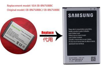 Wholesale 10PCS battery EB-BN750BBC for Galaxy Note 3 Mini SM-N7506V,SM-N7505,SM-N7502,SM-N7507,SM-N750K,SM-N750S,SM-N9008S фото