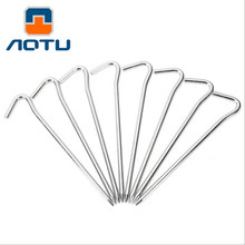 5PCS Aluminum Nails Tube Type Super Ultra Light Screw Camping Accessories Tent Accessories Tent Spares Mat Nail Tent Stakes Peg