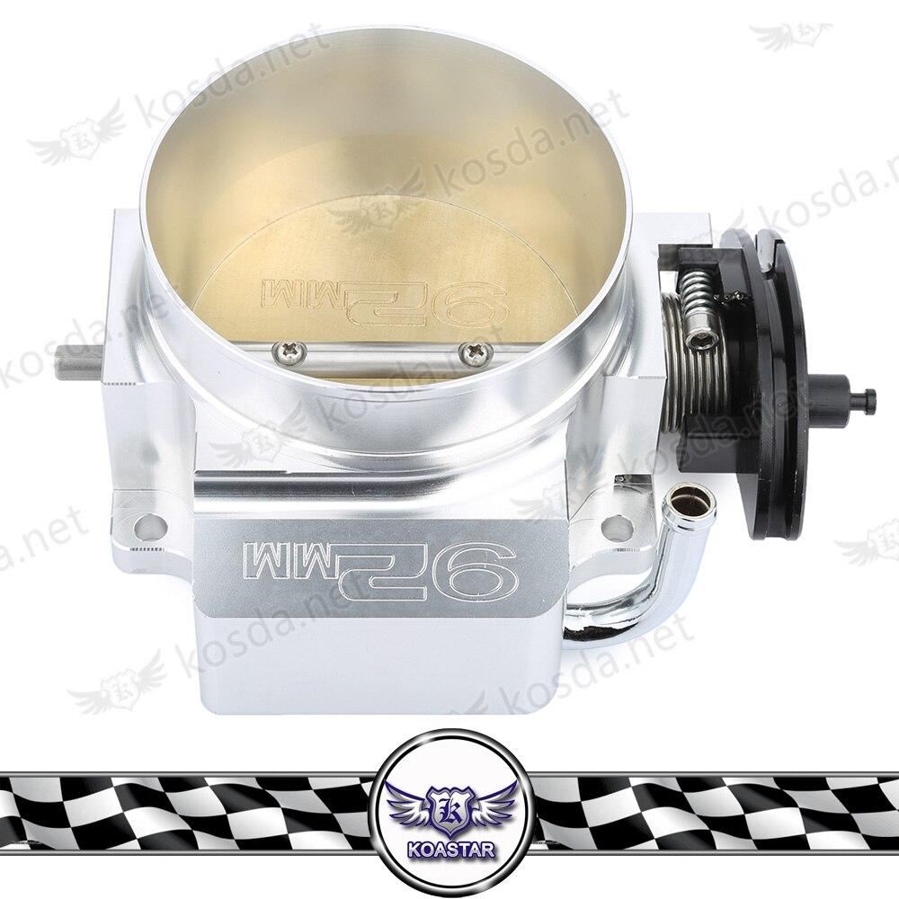 Sliver Throttle Bodies Kyostar 92mm Aluminum Throttle Body