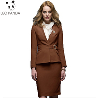 New Superior quality Womens Business Suits Formal Office Uniform Female Work Wear 3 Piece Blazer Ladies Trouser Suit C 147