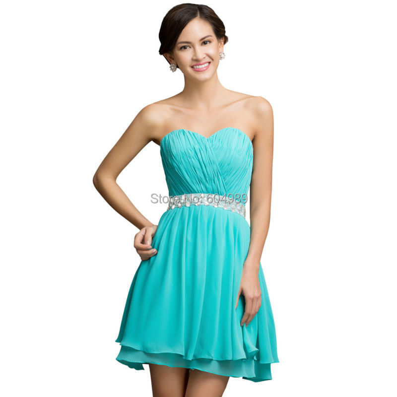 Short Turquoise Prom Dresses - Ocodea.com