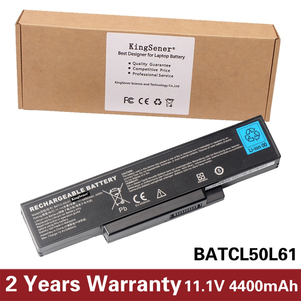 KingSener New Laptop Battery For DELL Inspiron 1425 1426 1427 1428 BATCL50L61 BATHL90L6 BATEL80L9 BATEL80L6 BATCL80L9 BATHL91L6 for ins 1427 1425 laptop charger 90w cn 0p189k p189k original 2 years warranty