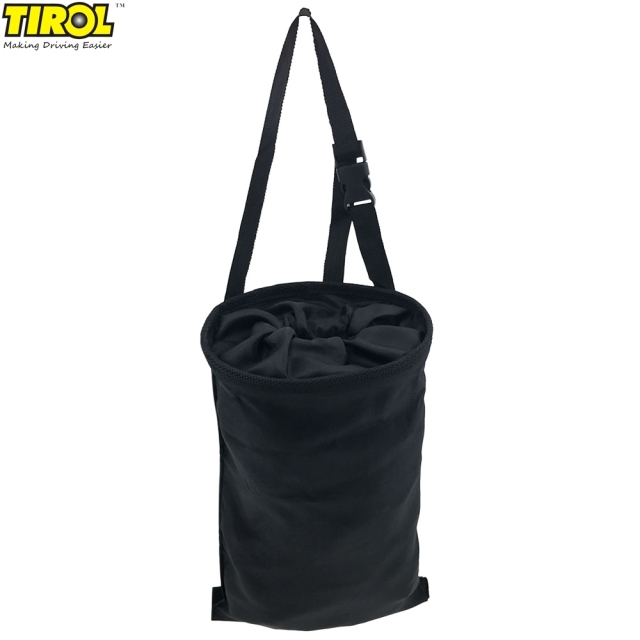 Garbage Storage #31 - Original TIROL Adjustable Car Trash Can Polyester Garbage Storage Bag Car  Seat Back Storage Pocket For