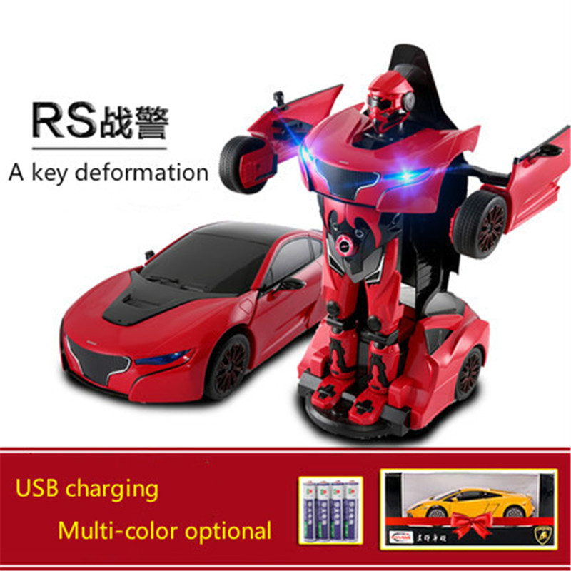 1:14 Remote Control deformation car robot rc car 4wd boys children's toy car for children over 8 years old gifts car toy