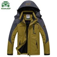 Sobretudo luxury Winter Jacket Coat Men black Velvet Warm Parka Mens Windproof Outdoorsports Military hooded jackets xxxxxl 6xl