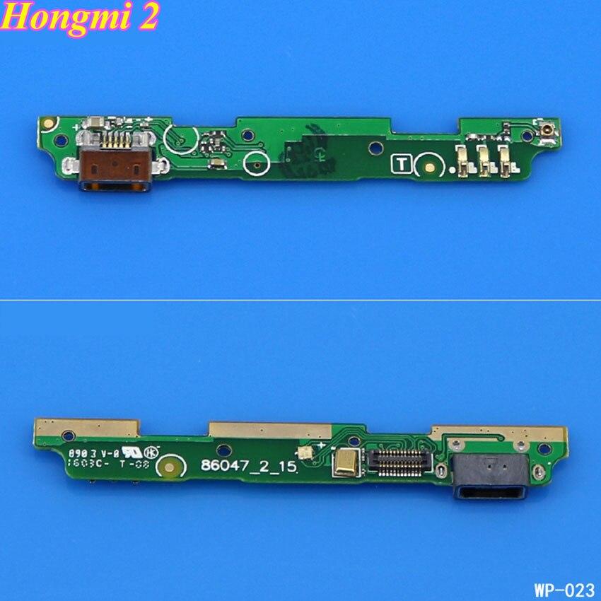Lysee Mobile Phone Flex Cables ChengHaoRan 1PCS USB plug charge board dock connector flex cable board for Xiaomi Redmi Hongmi 1 1s 2 3 Color: Hongmi 1 1s