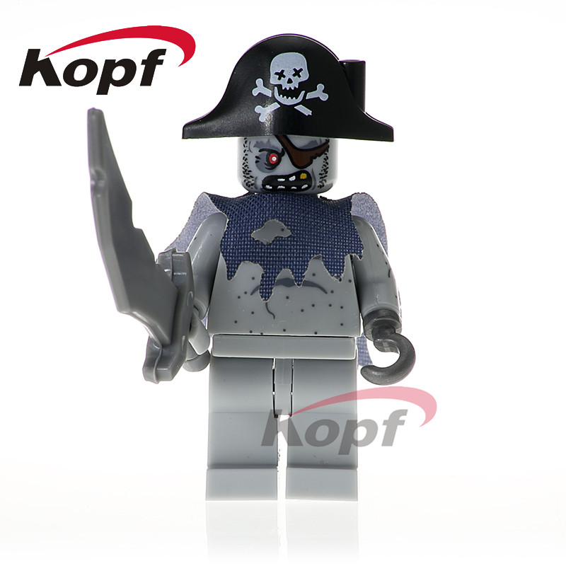 83a885ac92066 Single Sale Super Heroes Pirate of the Caribbean Scurm Hector Barbossa Jack  Sparrow Building Blocks Toys for children XH 617-in Blocks from Toys    Hobbies ...