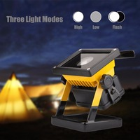 High Power 30W 2400Lm Portable Lantern LED Camping Lantern 3 Modes Outdoor Portable Lanterns Work Light Use 3*18650 Battery