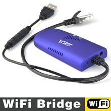VONETS repetidor wifi VAP11G 300 RJ45, amplificador, puente wifi, adaptador inalámbrico para cámara de PC, TV y WIFI