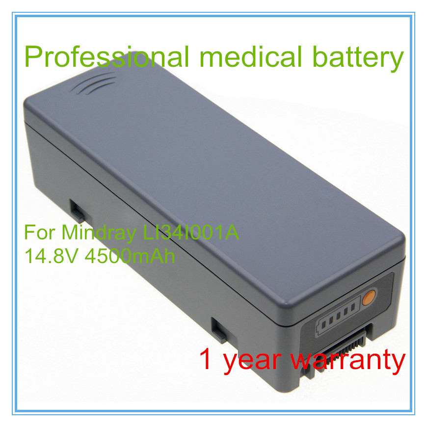 Defibrillator Battery Replacement FOR BeneHeart D6 D5 LI34I001A 022 00012 00 lithium battery