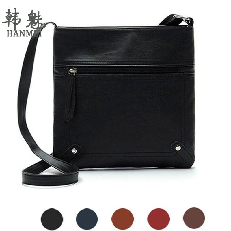 2017 New Fashion Retro Messenger Bags Tote Purse Ladies Shoulder Bag Leisure Handbag PU Leather High Quality Free Shipping P321