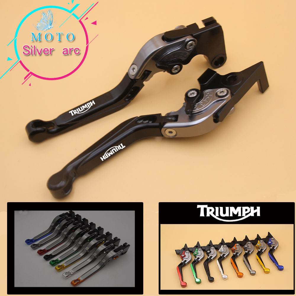 For Triumph DAYTONA 675R 675 R 2011 2016 Motorcycle Accessories Folding Extendable Brake Clutch Levers