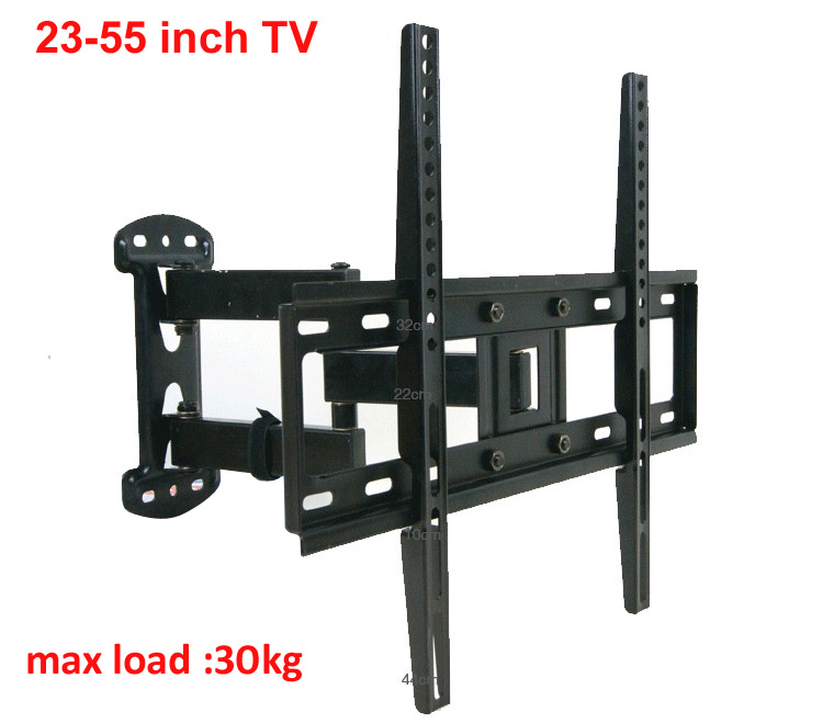 NB 55inch 42inch retractable led tv wall mount lcd bracket stand plasma