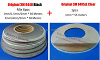 Save money 1mm 1 5mm 2mm 3mm 4mm 5mm width double sided adhesive 3m black 9448.jpg 200x200