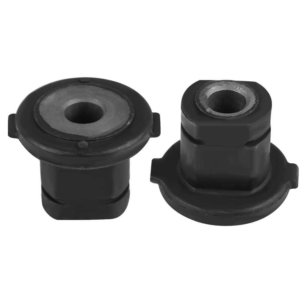 Black Metal Plástico Cremalheira Da Direcção de Montagem Bucha Fit Para Mercedes Benz W164 W251 GL320 ML320 R320 R500 1644600029