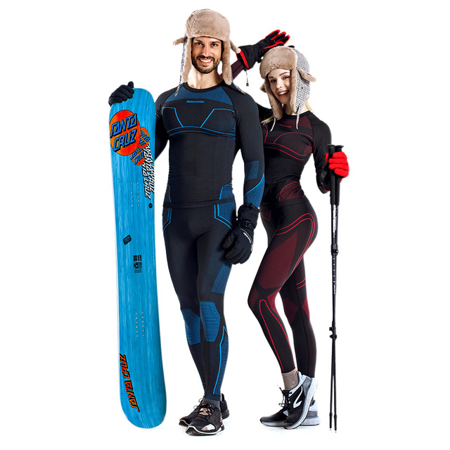 Men and Women Thermal Underwear Sets 1