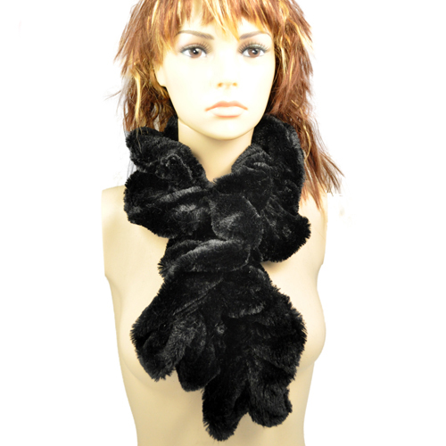 AOLOSHOW Fashion Neklace scarf Soft Faux Fur Scarf Winter for Women Christmas gift Stretchable winter warm scarf ,NL-1773