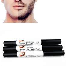 BellyLady Men Liquid Beard Growth Pen Beard Enhancer Facial Whiskers Nutrition Moustache Drawing Pen(China)