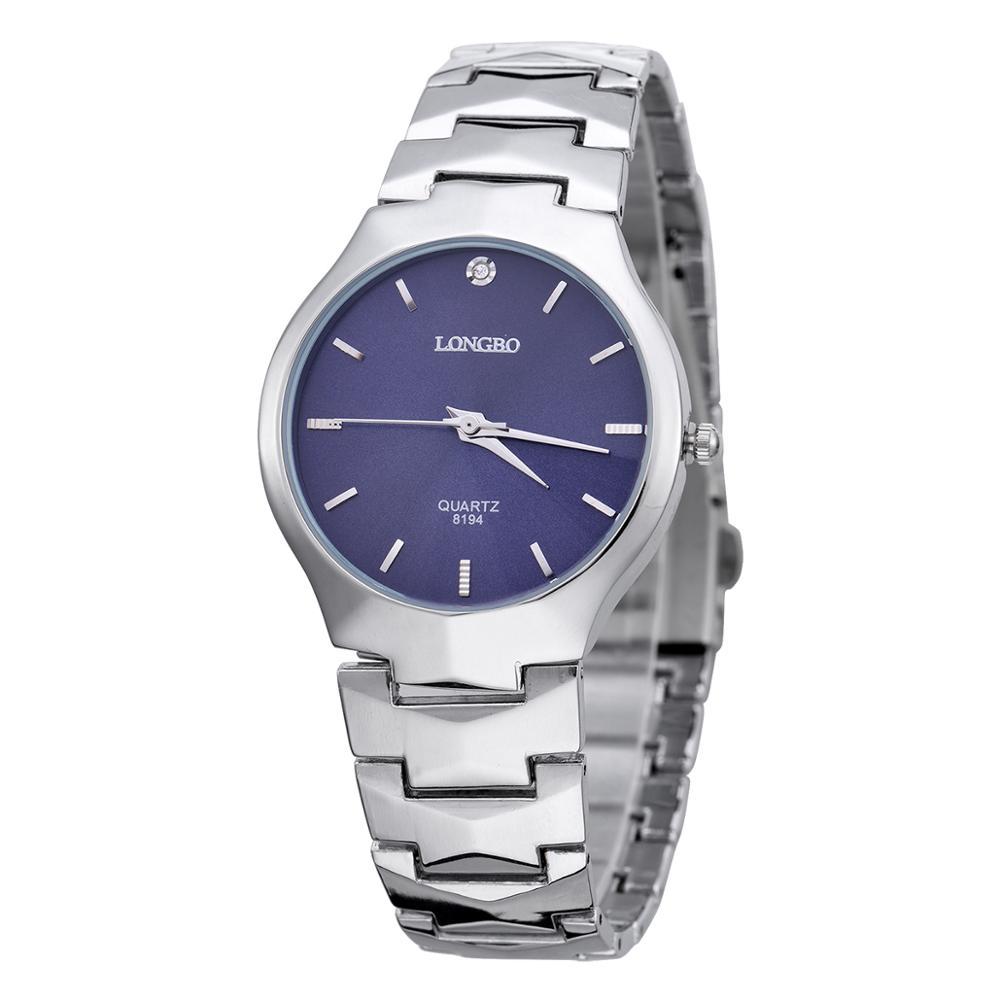 LONGBO Brand Men Women Brief Casual Quartz Crystal Wrist Watches Luxury Quartz Watch Relogio Feminino Montre Femme Gift 8194