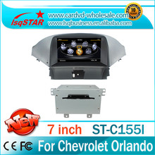 For Chevrolet orlando car DVD player gps with A8 chip Built-in GPS Navigatio/bluetooth/RDS/IPOD/PIP/VCDC/DUAL ZONE /3G /WIFI