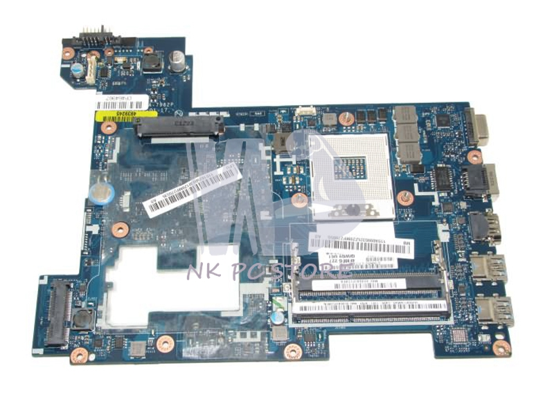 LA-7982P Laptop Motherboard For Lenovo G580 P580 P585l Main Board HM76 GMA HD DDR3 qiwg7 la 7983p main board for lenovo g780 laptop motherboard hm76 gma hd ddr3 100