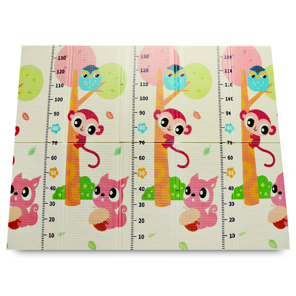 XPE pliant bébé tapis de jeu Double côtés pour intérieur extérieur utilisation ramper bande dessinée éducative résistant à l'eau résistant à l'humidité tapis de jeu