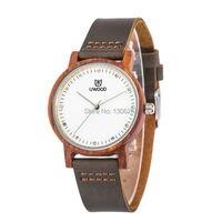 For Men Women Top Luxury Gift Sandal Wooden MIYOTA Quartz Movement Analog Wristwatch 36mm Smaller Size
