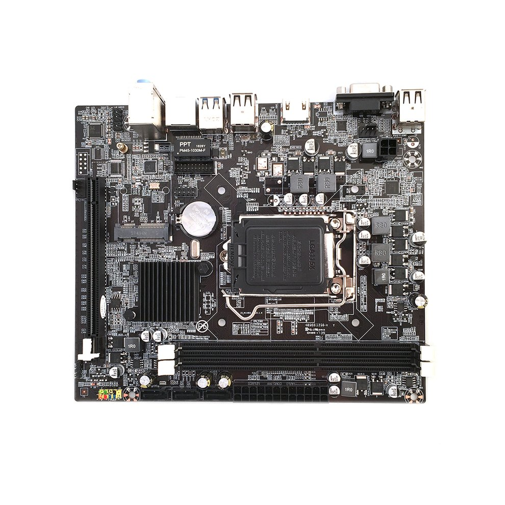 New Desktop PC Board Motherboard For H110 LGA1151 socket Support 16 Graphics Card DDR3 Upgrade USB3.0 VGA System Main Board original new desktop motherboard asus a88xm e usb3 1 a88x mother board socket fm2 fm2 2 ddr3 2400 2133 1866 support 32g 6 sata2