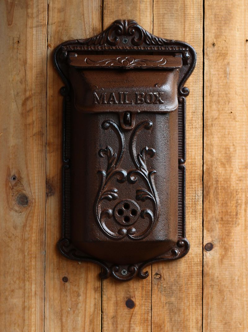 High Quality waterproof Vintage Newspaper Mailboxes Post Box Letter Box fashion Mailbox