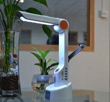 Luz De Emergencia de Emergencia de Radio y Cargador de Manivela Solar Fresco Lámpara de Escritorio LED con el Cargador Del Teléfono Fuerte Sirena con Luz Intermitente
