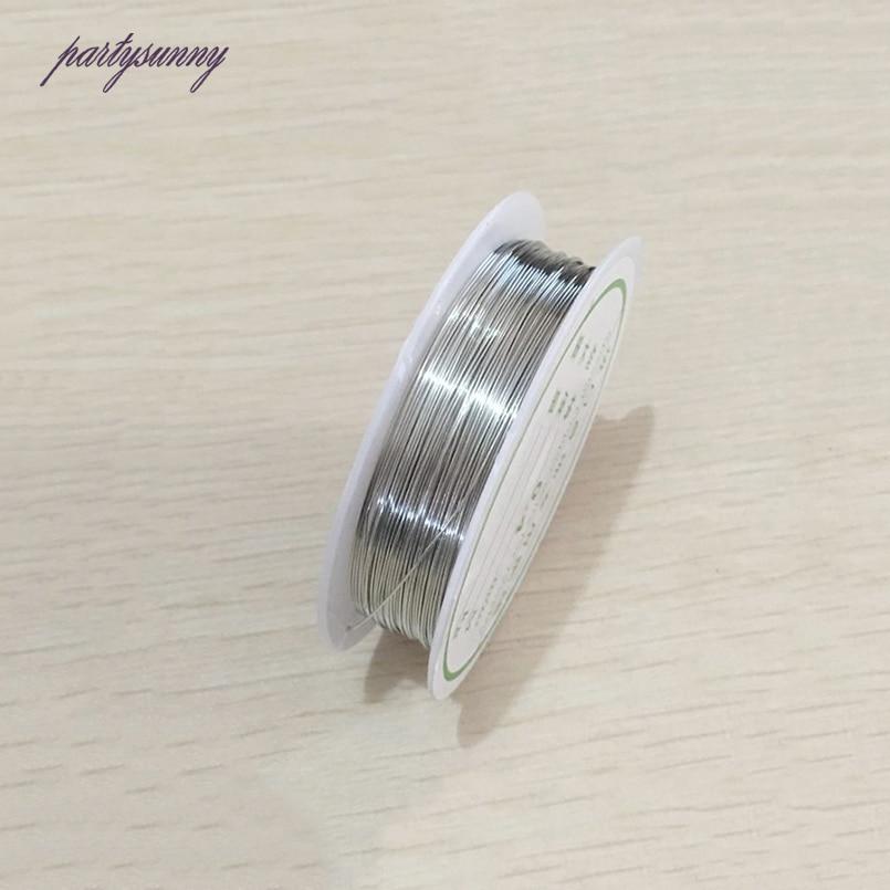 PF 0,2 bis 1mm 10 rolls/lot Gold kupferdrähte Perlen Handwerk Draht ...
