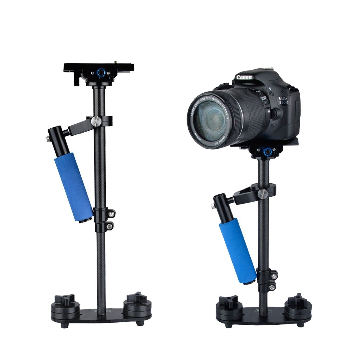 SF-04 S40 2.4Kg Carbon Fiber Handheld Stabilizer for Steadicam DLSR Camera Camcorder ashanks mini carbon fiber handheld