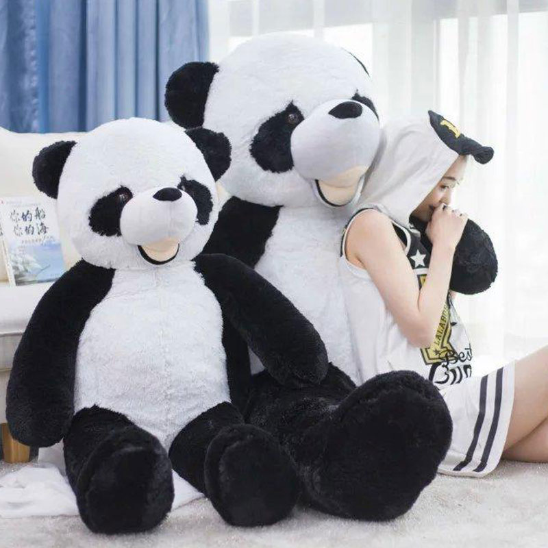 300cm Giant Smile Panda America Big Panda Bear Stuffed Plush Kids