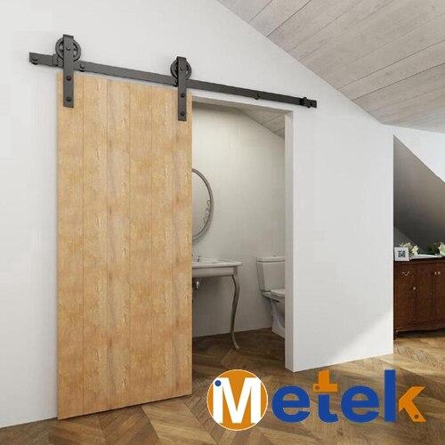 4 9ft 6ft 6 6ft Carbon Steel Interior Barn Sliding Door