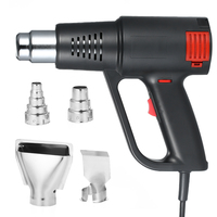 2000W Industrial Adjustable Fast Heating Hot Air Gun High Quality Handheld Heat Blower Electric Temperature Heat Gun Tool