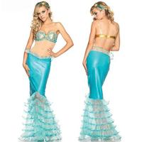 Sexy Imitation Leather Mermaid Tail Costume Temptation Cosplay Uniform Long Dress Porn Lace Tight Lingerie Disfraz Mujer CE77